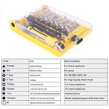 46 in 1 <b>Magnetic</b> Screwdriver Set Precision Screw Driver Repair ...