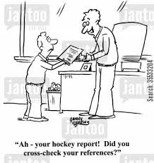 essay cartoons   humor from jantoo cartoonsessay cartoon humor  teacher to student      ah   your hockey report  did