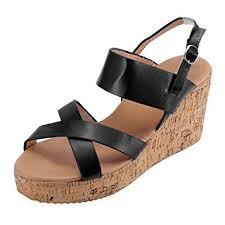 Women's Peep Toe Sandals Breathable Beach ... - Amazon.com