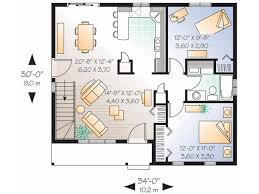 Eplans Country House Plan   Two Bedroom Ranch   Square Feet    Level