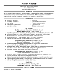 sample resume for quality control document control resume sample sample resume for quality control examples of medical assistant quality assurance supervisor resume exle bestresumestrong com