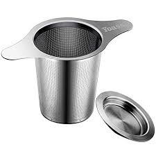 Yoassi Tea Infuser, <b>304 Stainless Steel</b> Tea Filter Strainer With Lid ...