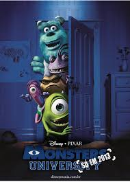 Póster de Monsters University (2013)