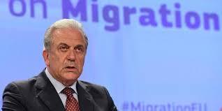Αποτέλεσμα εικόνας για commissioner avramopoulos