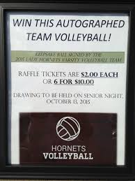 deca autographed ball raffle this is the home of lhathletics com alex brooklyn vb raffle sign