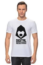 <b>Футболка классическая Printio Digital</b> Resistance. Цифровое ...