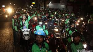 Image result for GO-JEK Vs Juru Parkir