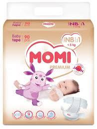 <b>Momi подгузники Premium NB</b> ... — купить по выгодной цене на ...