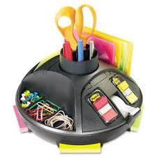 Shop <b>3M</b> Rotary Self-Stick Notes Dispenser Plastic Rotary 10-inch ...
