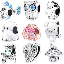 2019 Spring <b>925 Sterling Silver</b> Girl with Pigtails Hat Boy <b>Dumbo</b> ...