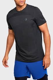 Мужская черная спортивная <b>футболка</b> Rush HG <b>Seamless</b> Fitted ...