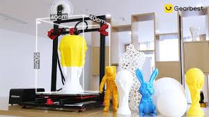 <b>Alfawise U20</b> Plus DIY <b>Large Scale</b> 3D Printer - Gearbest.com ...