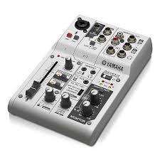 Микшерные <b>аналоговые</b> : <b>Микшерный пульт Yamaha</b> AG03