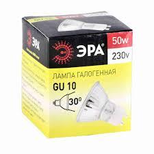 <b>Лампа галогенная ЭРА 50W</b>-GU10-<b>JCDR</b> MR16 ... - купить с ...