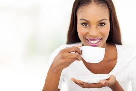 Image result for woman drinking coffee
