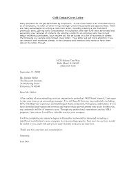 cover letter examples for inquiry