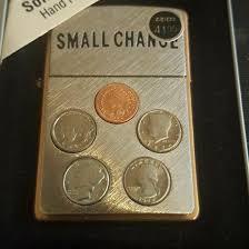 <b>Зажигалка</b> Zippo Small Change <b>Solid</b> Copper. – купить в ...