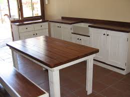 table for kitchen: table bench backrest home kitchen kitchen table bench kitchen