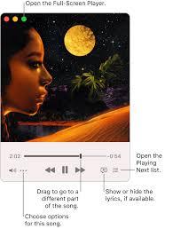 Use Music <b>Mini</b> Player on <b>Mac</b> - Apple Support
