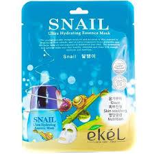 Ekel Ultra Hydrating Essence Mask Snail <b>Тканевая маска</b> с ...