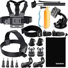 Zookki Accessories Kit for Gopro Hero 7 6 5 4 3 ... - Amazon.com