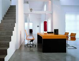 sleek modern office furniture makes stylish and cool office atmosphere awesome modern office furniture orange interior cool office desks