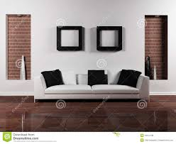 Modern Interior Design Of Livingroom Royalty Free Stock Photos - Furnishing a living room
