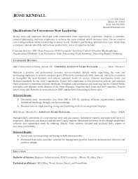 Assistant Store Manager Resume Retail Store Manager Resume Sample