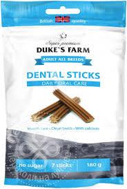 Купить <b>Лакомство</b> для собак <b>Dukes</b> Farm Dental Sticks для ...