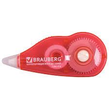 Купить <b>Корректирующая лента BRAUBERG</b>, 5 мм х 6 м, корпус ...