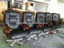 china manufacturer boss reclining office chair with woodern basearmrestfoh a80 china office chair china office chair