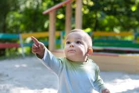 Research on babies and <b>pointing</b> reveals the action's importance.
