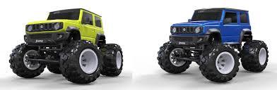 <b>Радиоуправляемая модель Monster Truck</b> Suzuki Jimny в ...