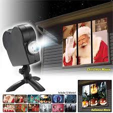 <b>Christmas Halloween Laser</b> Projector 12 Movies Mini window ...
