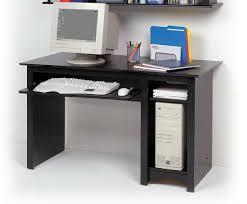 small black computer desk black computer desks