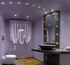 bathroom ceiling globes design ideas light: inverted pleat balloon window shade idea feat modern bathroom lighting and cool vessel sink design also