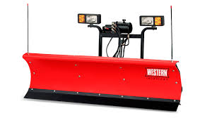 western acirc reg snowplows spreaders parts western products suburbanite front image straight blade snowplow