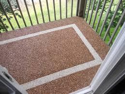 exteriors pebble stone patio flooring captivating design patio ideas diy