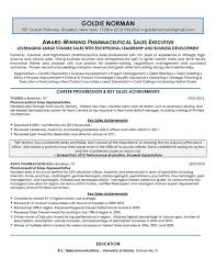 Pharmaceutical Sales Executive Resume Sample lt br   gt  All material is copyrighted by The Writing