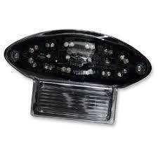 Moto MPH <b>Integrated LED</b> Taillight Blackout - MPH-2046B ...