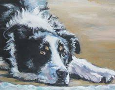 A Border Collie, by Thomas Sidney Cooper. | Border collie art, Dog ...