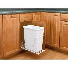 Kitchen Cabinet Garbage Drawer Rev A Shelf Trash Recycling Cans Kitchen Organization