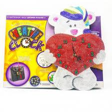<b>Danko</b> Toys Часы <b>своими руками</b> Creative Clock Мишка декор ...