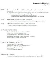 high school resume with no  seangarrette coresume examples with education and technical skills   high school resume
