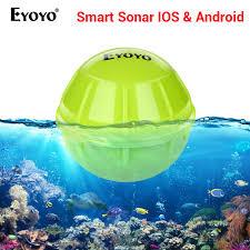 <b>Eyoyo E1 Fish finder</b> sonar for fishing Bluetooth <b>Wireless</b> Depth ...