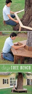home improvements refference tree branch coat make a custom tree bench  impressive curb appeal ideas