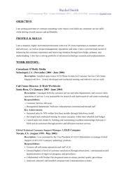 simple customer service representative resume example customer service representative resume objective profile and skills