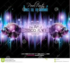 music event flyer template stock vector image 48002844 disco club flyer template for your music nights event royalty stock images