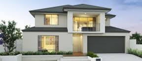 Two Storey Home Designs Perth   apg HomesKimberley double storey front elevation