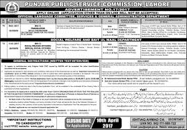 new jobs in punjab public service commission ppsc
